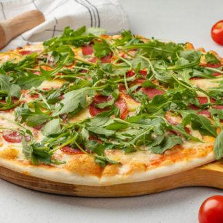 Пицца салями и руккола Divillaggio